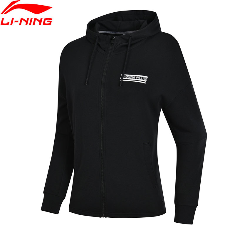 Li-Ning Women The Trend Hooded Jackets 87%Cotton 13%Polyester Loose Fit Comfort Jacket LiNing Sports Hoodies AWDN646 WWJ931Li-Ning Women The Trend Hooded Jackets 87%Cotton 13%Polyester Loose Fit Comfort Jacket LiNing Sports Hoodies AWDN646 WWJ931