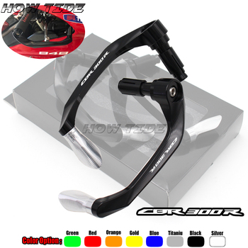 Universal 7/8 22mm Motorcycle Handlebar Brake Clutch Levers Protector Guard For HONDA CB300R CB 300R CB 300 R image