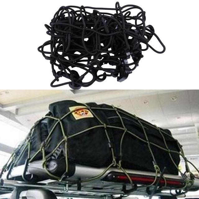 160*110CM Car Accessories Cargo Basket Elasticated Net Elastic Car Roof Top  Rack Cover Network