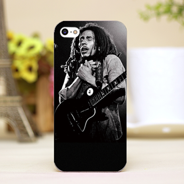pz0085-7 bob marley show photo Design phone transparent cover cases for iphone 4 5 5c 5s 6 6plus Hard Shell