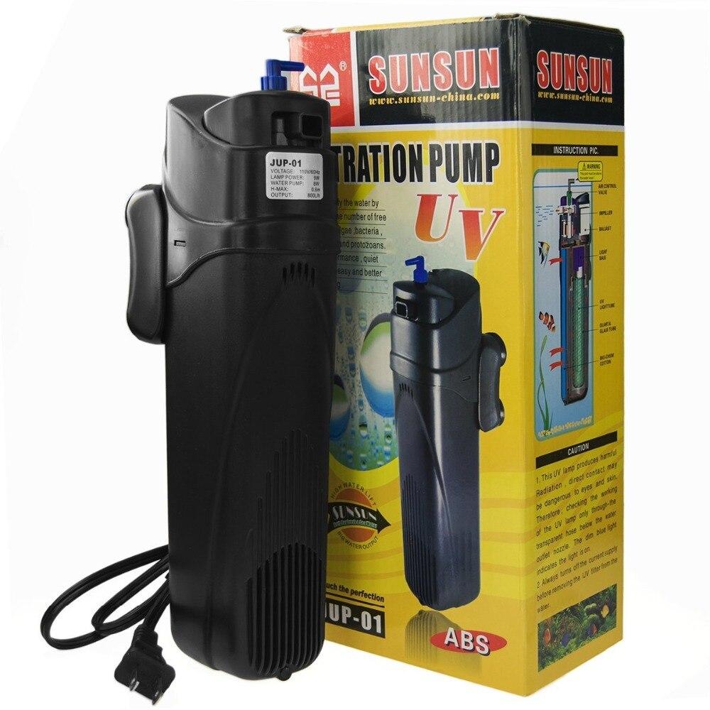SUNSUN Algues Supprimer Submersible Aquarium UV Stérilisateur Filtre Pompe Pompe À Air pour Tuer Les Algues 4 dans 1 jup01 jup02 disponibles