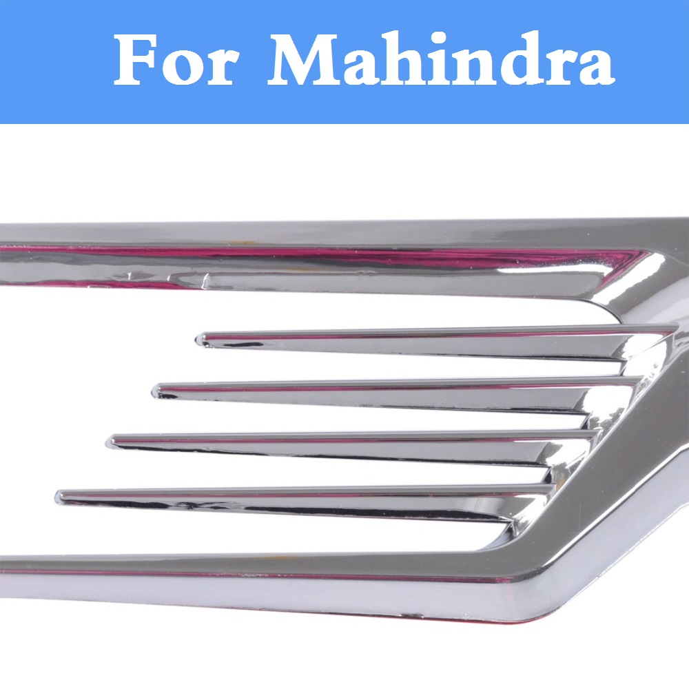 2017 stylish cool car stying hole intake duct flow grille sticker for mahindra armada bolero commander