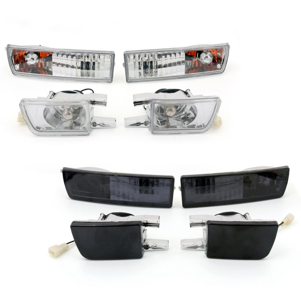 Areyourshop Front Bumper <font><b>Light</b></font> & Signal Lamp Fog <font><b>Light</b></font> for <font><b>VW</b></font> <font><b>Golf</b></font> Jetta <font><b>MK3</b></font> 1993-1998 Front Fog <font><b>Light</b></font> Car Styling Accessories image