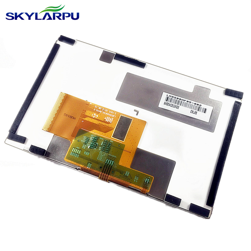 skylarpu 5 inch For TomTom XXL IQ Canada 310 N14644 Full GPS LCD display screen with touch screen digitizer panel free shipping adjustable fuel gauge