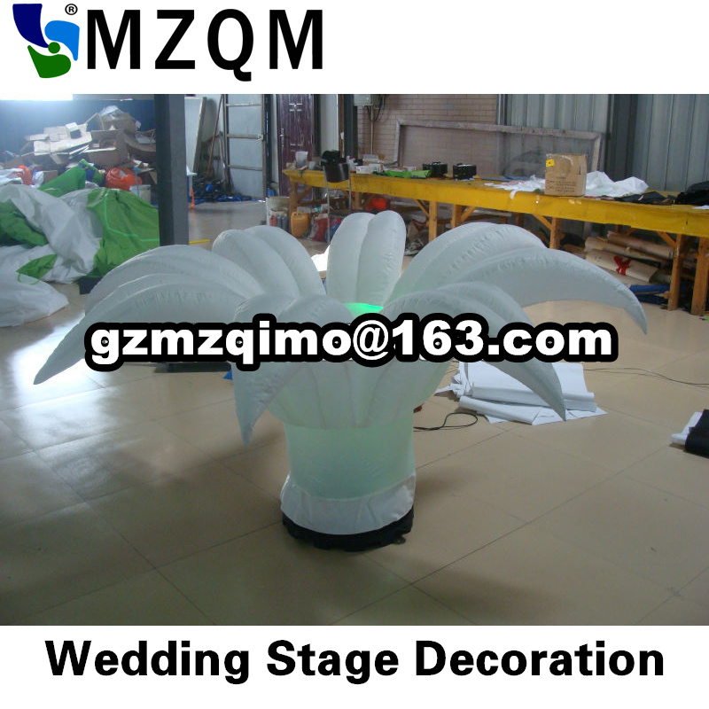 2pcs per lot free shipping inflatable flower with led light, stage decoration inflatable flower for advertising, wedding flowers2pcs per lot free shipping inflatable flower with led light, stage decoration inflatable flower for advertising, wedding flowers