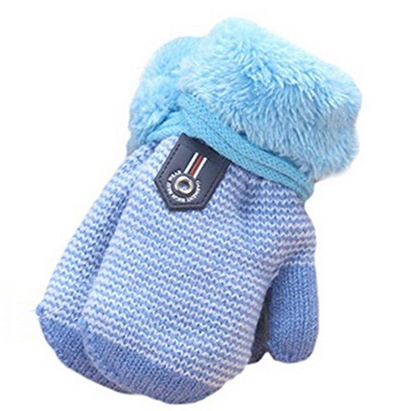 Baby Winter Gloves Hot Baby Gloves Children Thicken Stretch Children Girls Boys Gloves Full Knit Glove Mittens 987036 Gloves & Mittens Boys' Baby Clothing