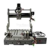 DIY 3040 4axis CNC Router machine for woodcarving USB port (Parallel optional)