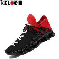 Keloch New Spring Autumn Unisex Sneakers Breathable Mesh Men Women Running Shoes Cushion Sport Shoes Soft