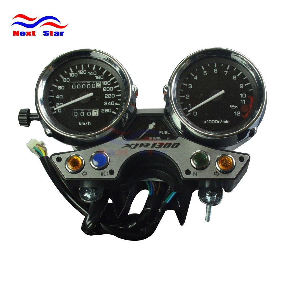 Motocicleta 260 Instrumento Tacômetro Odômetro Velocímetro Medidor Cluster XJR1300 Medidor Para YAMAHA XJR 1300 1989-1997 Moto de Rua