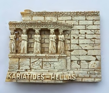 Temple of the Acropolis of Athens, Greece 3D Fridge Magnets Travel Souvenirs Refrigerator Magnetic Stickers Home Decoration