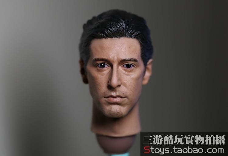 1/6 scale Doll head Male DIY Accessories 12 Action figure doll Head Sculpt . godfather Al Pacino head brabantia мусорный бак touch bin 30 л