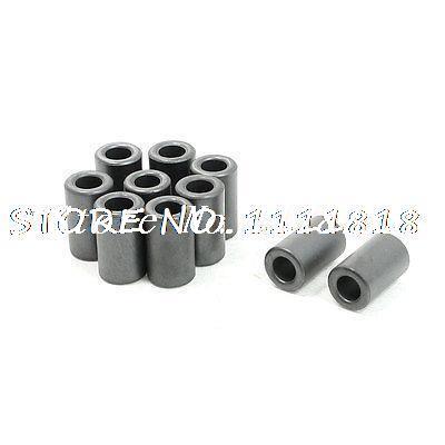 10pcs 12x6.5x20mm Inductors Filters Coils Toroidal Ferrite Cores Dark Gray