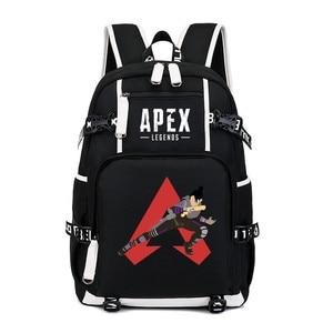 Image 5 - Hot Game Apex Legends Backpack Cosplay Kids Teens Laptop Shoulder Travel Bag Anime Gamer Student School Bags Gift