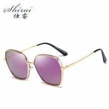 цены на 2019 Polarized Retro Shield Sunglasses Women Brand Design Fashion Female Sun glasses Men Oculos De Sol Feminino Lunette Soleil  в интернет-магазинах