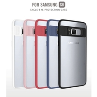 2017 High Quality TPU Silicone Case 5 Colors Transparent Back Cover For Samsung Galaxy S8 Case
