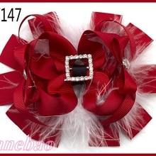 300 шт, заколки для волос на День святого Валентина, заколки для волос в форме сердца, банты из бутика на День святого Валентина, заколки для волос на День святого Валентина