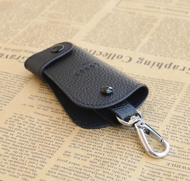 Leather Car Keybag With BMW Or Audi Logo