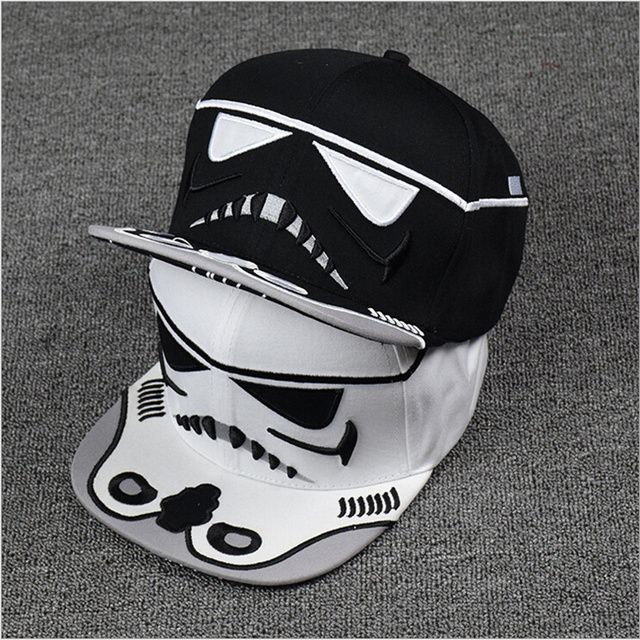 New 2016 Fashion Cotton Brand Star Wars Snapback Caps Cool Strapback Letter  Baseball Cap Bboy Hip-hop Hats For Men Women ed2d0c7fc77b