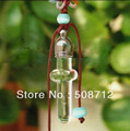 Free shipping!!!!  open 5mm 50pcs/lot shape  mini cross mini glass vial pendant  with stopper w/cap