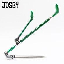 JOSBY 1.7M 2.1M 2.3M canna da pesca staffa portatile pieghevole a scomparsa 5 colore in acciaio inox Canna da pesca Holder telescopico
