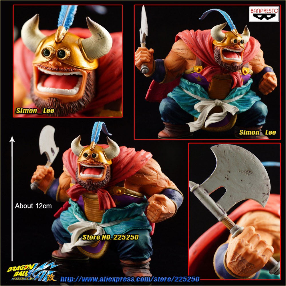 Japan Anime DRAGONBALL Dragon Ball Z Original BANPRESTO SCultures Zoukei Tenkaichi Budoukai 2 Toys Figures - OX King угловая шлифмашина bosch gws 850 125 ce 0601378792