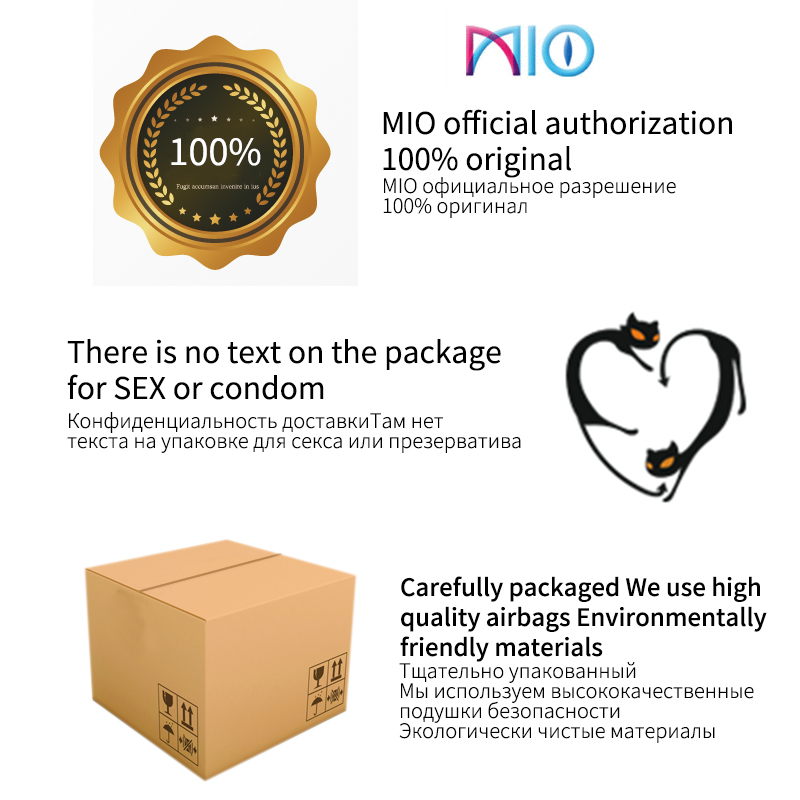 MIO Ultra Thin Condom Lubricant Natural Latex Ice Fire Pleasure Stimulating Sexual Climax Condoms 24 48Pcs 1lot Sex Shop for Men in Condoms from Beauty Health