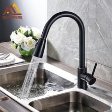 Blackend ванной смеситель для кухни вытащить две функции опрыскиватель глава кухня краны горячей и холодной воды