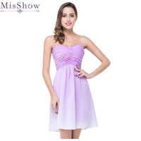 特別販売ミニ A ラインショートホームカミングのドレス 2019 シフォンウエディングパーティードレス vestidos デ graduacion 特別な日のドレス