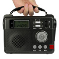 Radio FM 9 KHz de la Manivela de Emergencia Portátil de Radio Grabadora de Tarjeta De La Ayuda FM/AM/SW Receptor Cargador de Teléfono linterna de Radio Y4393A