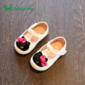 Claladoudou New Brand PU Leather Baby moccasins Black First Walkers Soft Rose White Baby Girl Shoes Infant Bowtie Shoes For 0-2Y