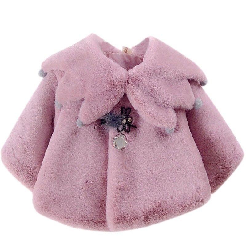 Ehrlichkeit 3 Farben Herbst Süße Baby Mädchen Niedlichen Stil Prinzessin Partei Schnee Tragen Kinder Mantel Oberbekleidung QualitäT Zuerst