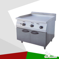 PKJG GH36A Vertical Gas Griddle with Cabinet, for Commercial Kitchen