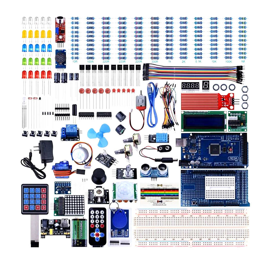 Mega2560 for UNO Kit for Arduino with Tutorials Complete Starter Kit wholesale with box