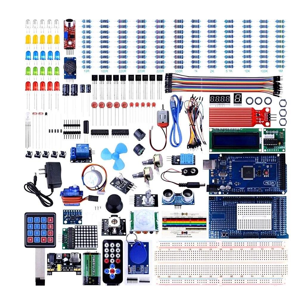 Mega2560 voor UNO Kit voor Arduino met Tutorials, Compleet Starter Kit groothandel met doos-in Vervangende onderdelen en toebehoren van Consumentenelektronica op  Groep 1