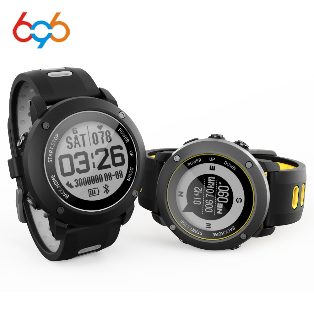 696 UW90 Bluetooth Smart Watch Sport Wristwatch 1.2 Inch GPS Heart Rate Monitor Pedometer IP68 Professional Waterproof Outdoor696 UW90 Bluetooth Smart Watch Sport Wristwatch 1.2 Inch GPS Heart Rate Monitor Pedometer IP68 Professional Waterproof Outdoor