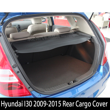 For Hyundai I30 2009-2015 Rear Cargo Cover privacy Trunk Screen Security Shield shade Auto Accessories