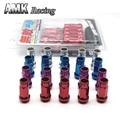 AMK Acorn Rim racing-SR48 Acero Automático Extendido Open End Racing Wheel M12X1.5 Tuercas Con Una Llave 20 unids