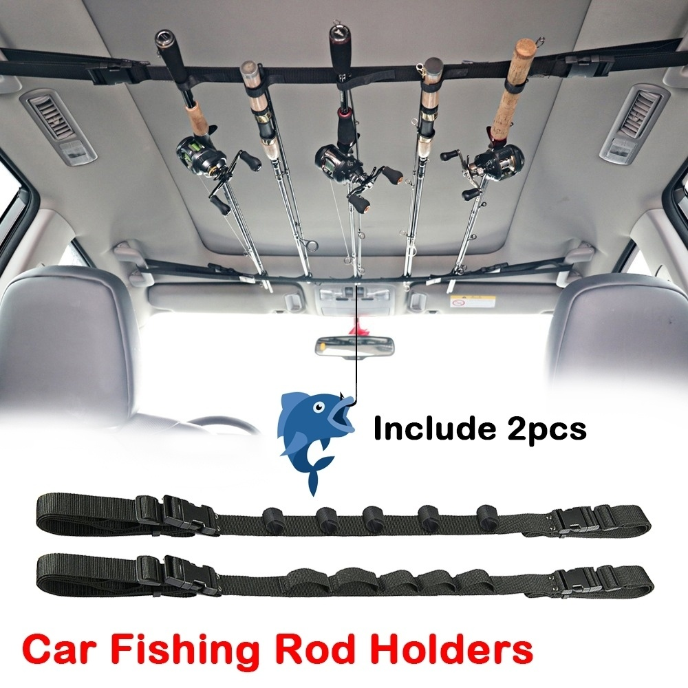 Car Fishing Truss Portable Rack  Fishing Rod Holder For SUV And Car 2 Pieces/package
