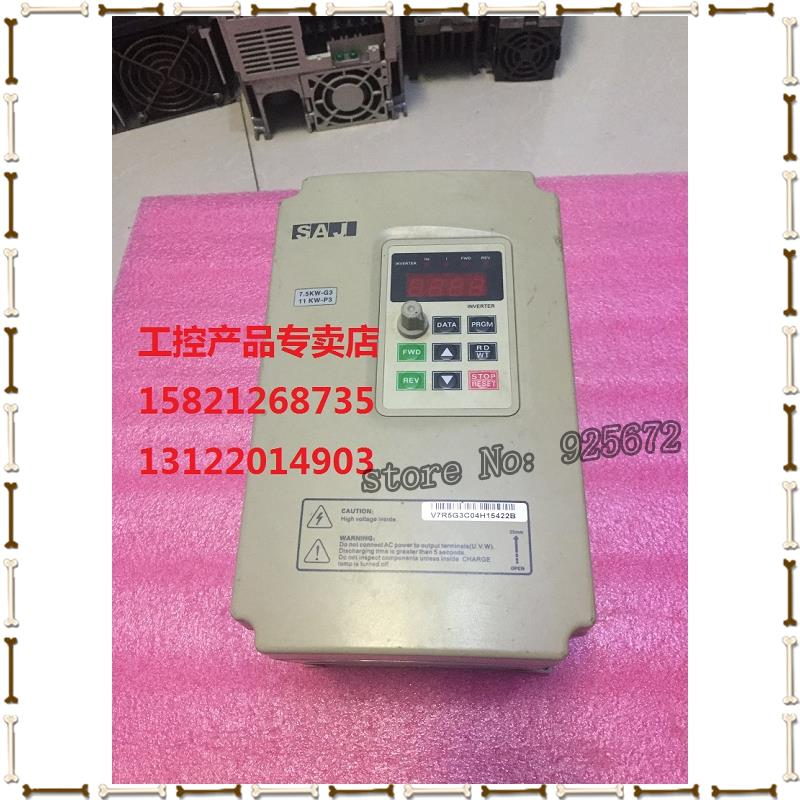 Tee c frequency converter V7R5G3 / V011P3 P3 is 7.5 KW - G3/11 KW - 380 v has been test package is good!