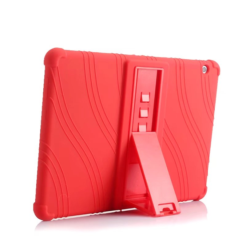 Silicone Stand Protect Shell For Huawei Mediapad T5 10 AGS2-W09/L09/L03/W19 Soft Case For Huawei Honor Pad 5 Tablet PC + Pen