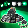 5000 Lumens XM-L T6 LED Headlamp Headlight Head Lamp Light lampe frontale + AC charger for Fishing Hunting