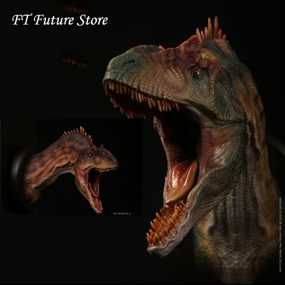 Collectible PVC Animal Figure ALLOSAURUS Bust Collectible Head Statue Museum Series Toys Exceptional Faucet for Fans Boys GiftsCollectible PVC Animal Figure ALLOSAURUS Bust Collectible Head Statue Museum Series Toys Exceptional Faucet for Fans Boys Gifts