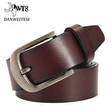 [DWTS] fashion cow genuine leather men fashion classice vintage style
