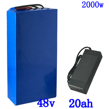 48V ebike battery 48V electric scooter battery 48V 1000W 2000W Lithium Battery 48V 20AH Electric Bike Battery +54.6V 5A cahrger conhismotor ebike 5a lithium battery charger for 48v electric bicycle battery 54 6v output voltage 100 240v input voltage