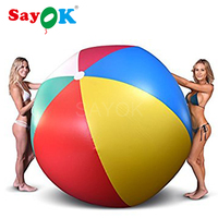 Giant Inflatable Beach Ball Beach Play Sport Summer Toy Children Game Outdoor Fun Sport Toys 1.5/2.0/3.0 Meter