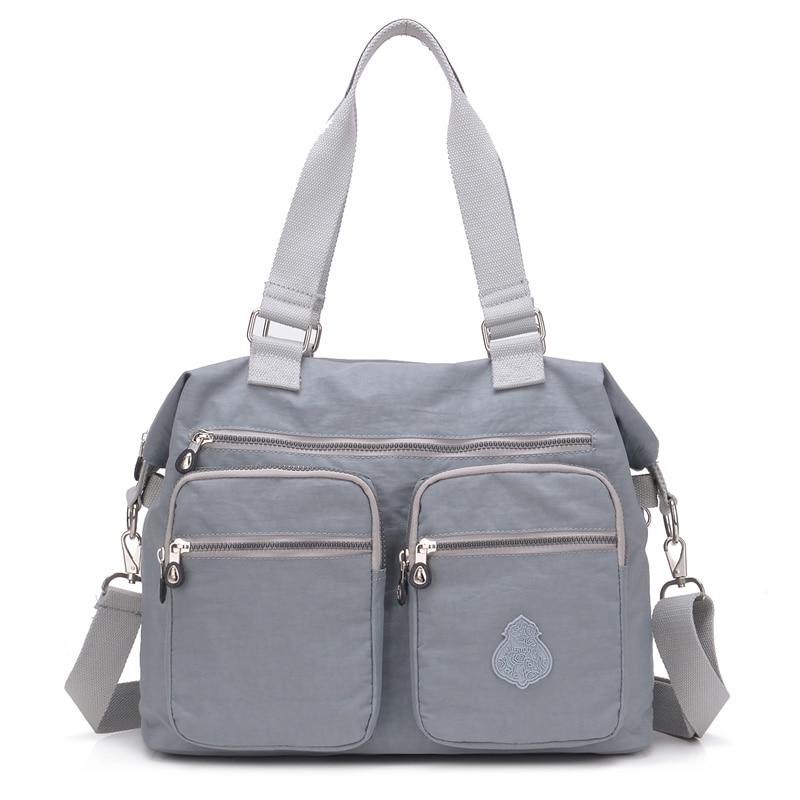 Large Capacity Women Bag Handbag Waterproof Nylon Shoulder Bag Women Ladies Hand Bags Crossbody Bags For Women Bolsa Feminina
