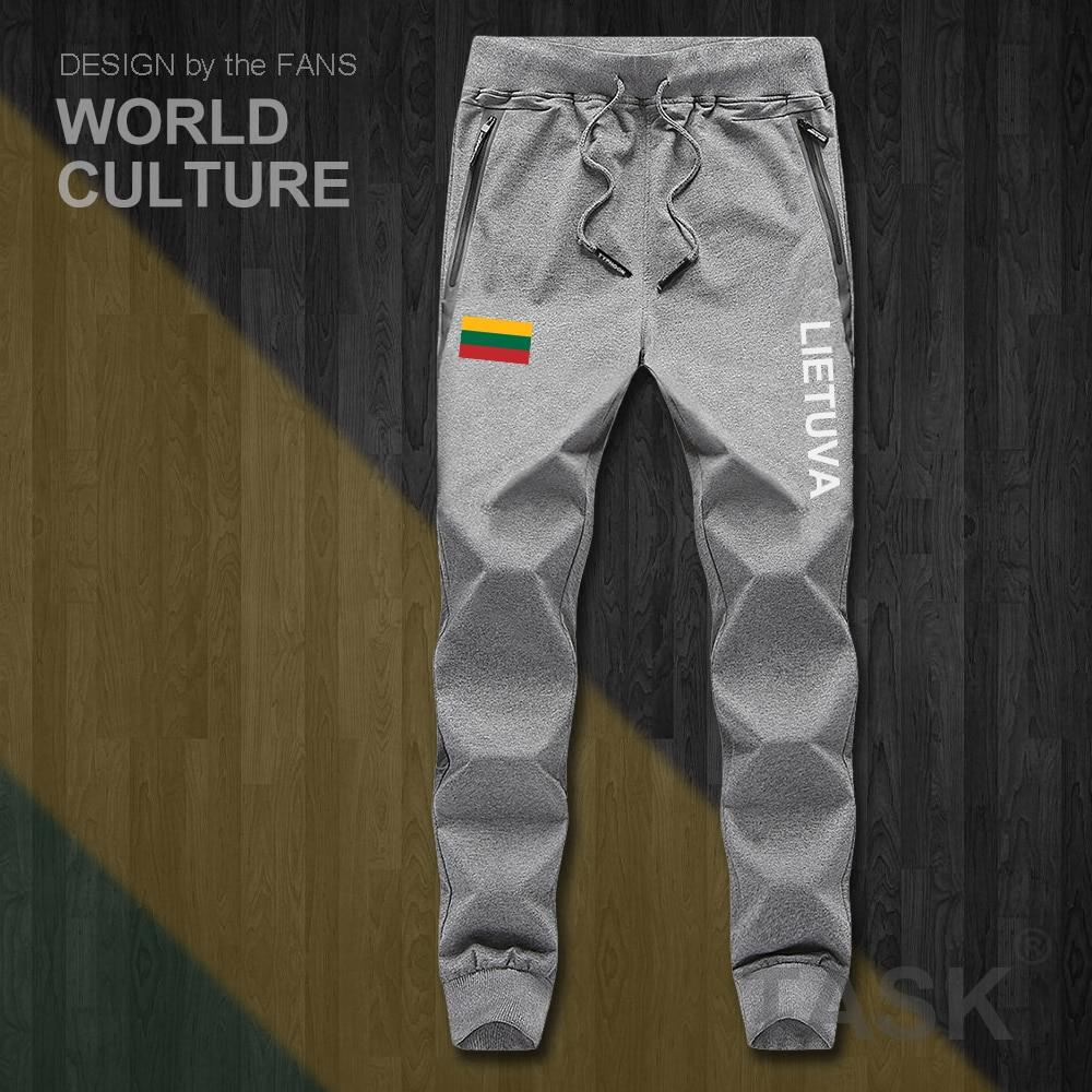 Lithuania Lithuanian LTU Lietuva Lietuvos Mens Pants Joggers Jumpsuit Sweatpants Track Sweat Fitness Fleece Tactical Casual New