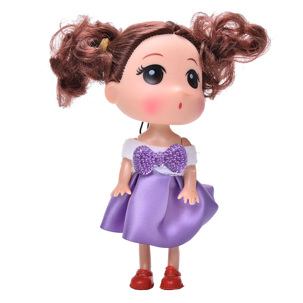 Kids Toy Soft Interactive Baby Dolls 12cm Confused Doll