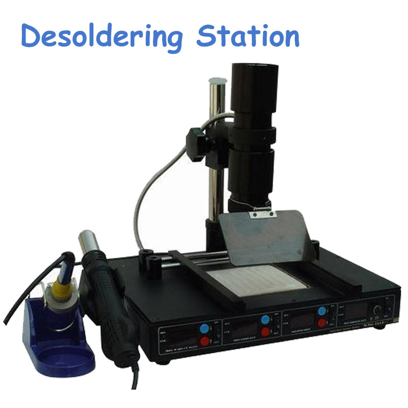 Infrared BGA Desoldering Station Preheating Stations Heat Gun Soldering Iron Multifunction Welding Tools T862D+ 853a bga constant temperature lead free preheating stations
