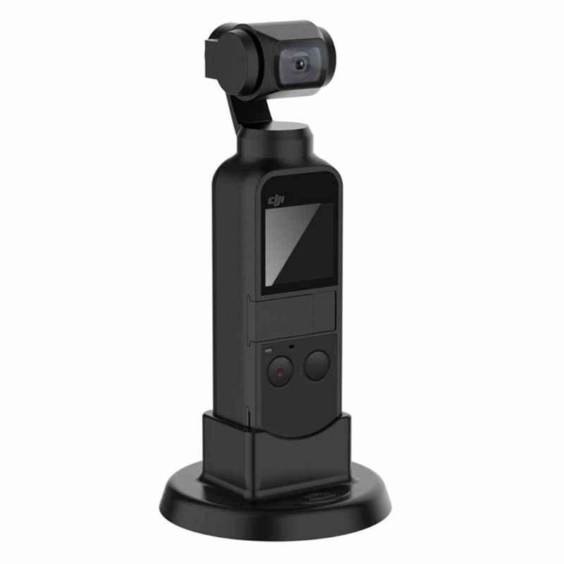 OOTDTY Stabilisateur De Poche monture pour Support De Silicone De Support De Support De Bureau Base pour DJI OSMO POCHE Cardan Caméra